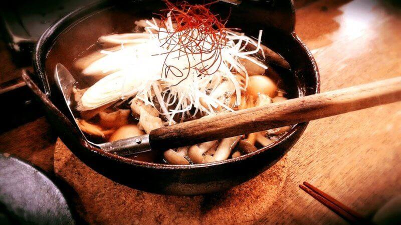 三軒茶屋月山の芋煮