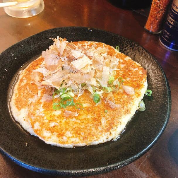 山芋とろろ豆腐焼き 650円