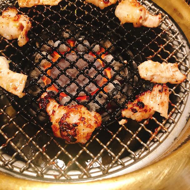 シマチョウ(塩だれ) 780円