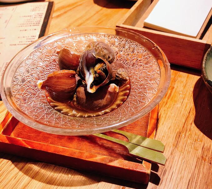磯つぶ貝の旨煮 500円